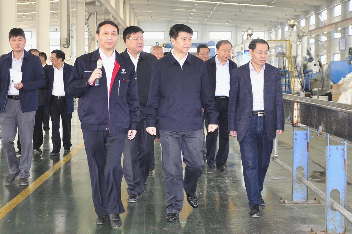 泰安市委书记来宝胜山东调研